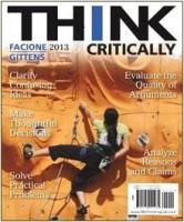 THINK Critically 2013 cover