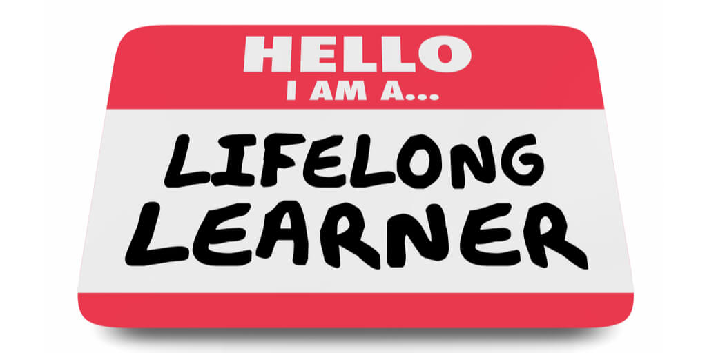 Lifelong Learner Name Tag