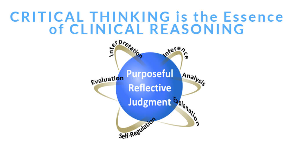 Critical Thinking is the Essence of Clinical Reasoning