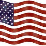 Illustration of American flag