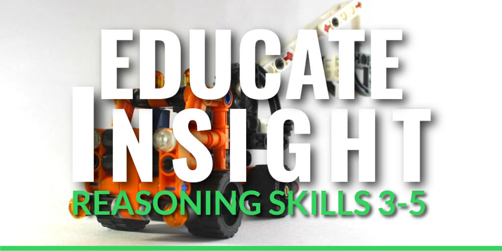 EDUCATE INSIGHT -  Assess Reasoning Skills for Grades 3-5