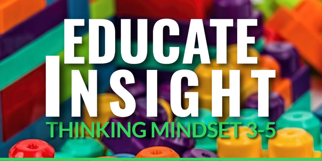EDUCATE INSIGHT Thinking Mindset Assessments for grades 3-5