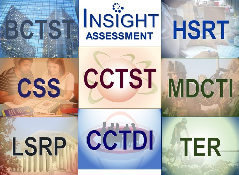 Critical Thinking Assessments for Documenting Higher Ed Learning Gains