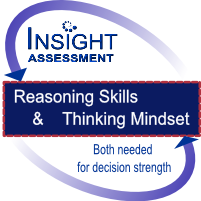 Strong reasoning skills and thinking mindset are needed for decision strength   Insight Assessment